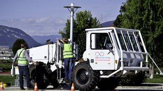 Campagne de prospection géothermique : avis de passage de camions vibreurs
